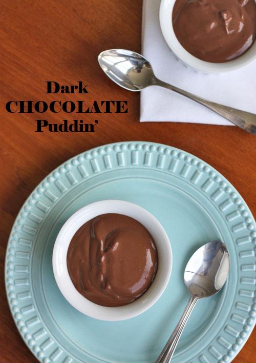Scientifically Sweet: Deep Dark Chocolate Pudding (gluten ...