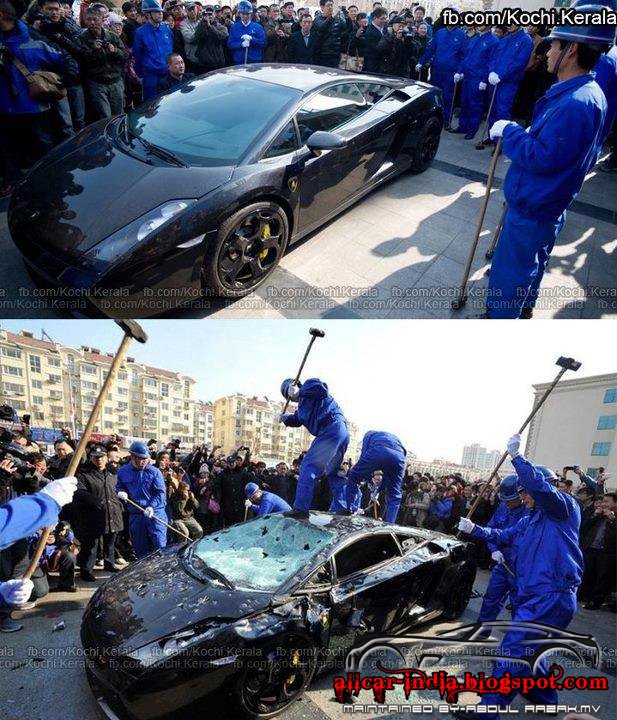 Automotive Craze A Amazing Destroyed Story Of Lamborghini Gallardo