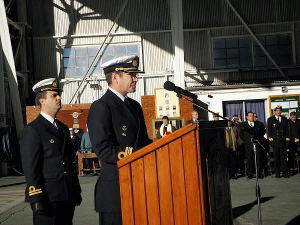 Ceremonia en la EA6E
