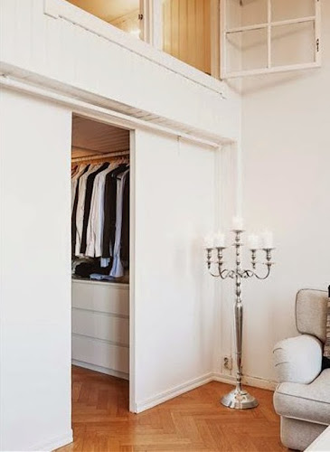 Two Suspended Bedrooms Above the Dressing Room