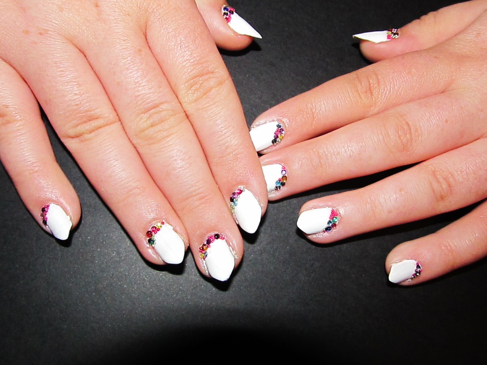 Pin nails mis disenos de unas acrilicas capriccio tattoo for Disenos de unas 2012