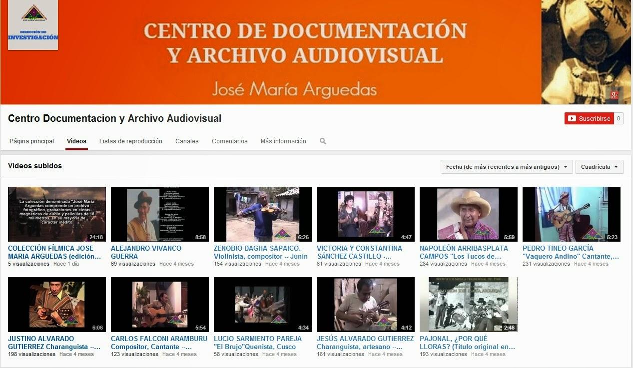 NUESTRO CANAL DE VIDEOS