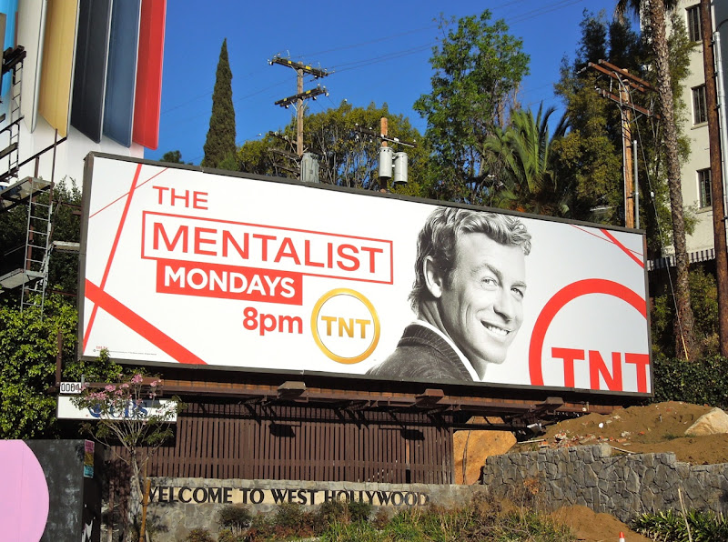 The Mentalist TNT billboard