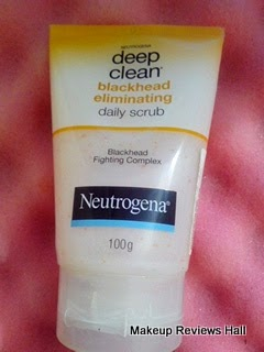 Neutrogena Deep Clean Blackhead Eliminating Daily Scrub Review