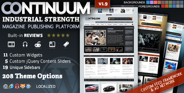Image for Continuum – Magazine Theme by ThemeForest