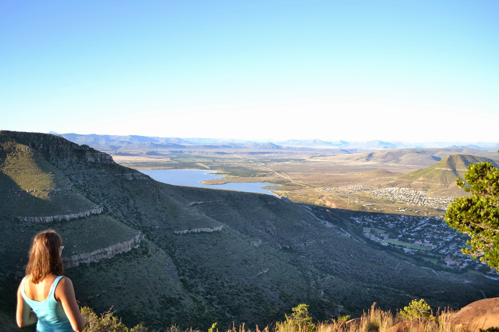 Camdeboo National Park overlooking dam