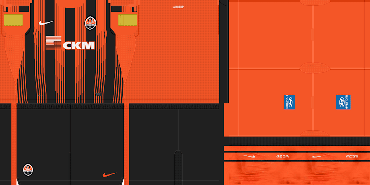 Shakhtar 11-12 Kit Set by JiYin