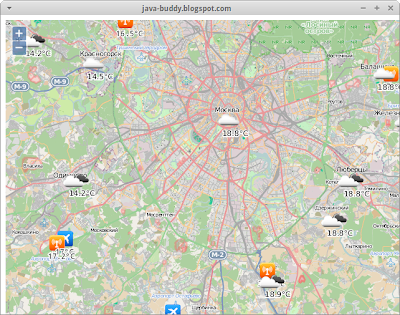 Embed OpenWeatherMap in JavaFX WebView