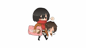 Attack on titan ANIME CHIBI