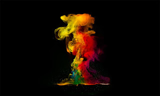 Smoke Colors HD Wallpaper