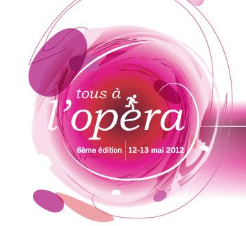Du 12 au 13 mai 2012: « Tous à l'Opéra ! » entrée gratuite - portes ouvertes - multiples activités gratuites  bon plan opera loisirs gratuits
