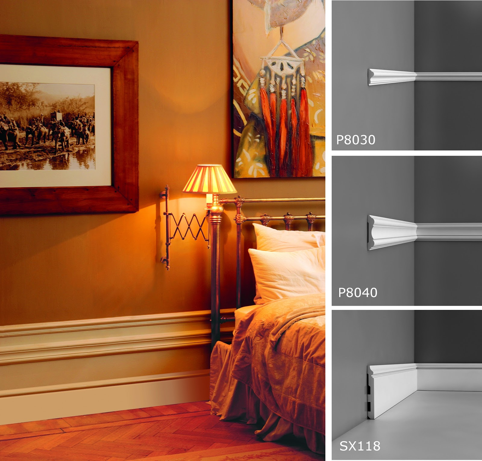 orac decor projects news high skirting effect. Black Bedroom Furniture Sets. Home Design Ideas