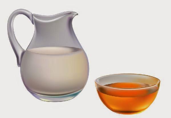 Honey and milk for Eye Conjunctivitis