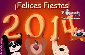 Frases De Año Nuevo: Felices Fiestas Feliz Año Nuevo 2014