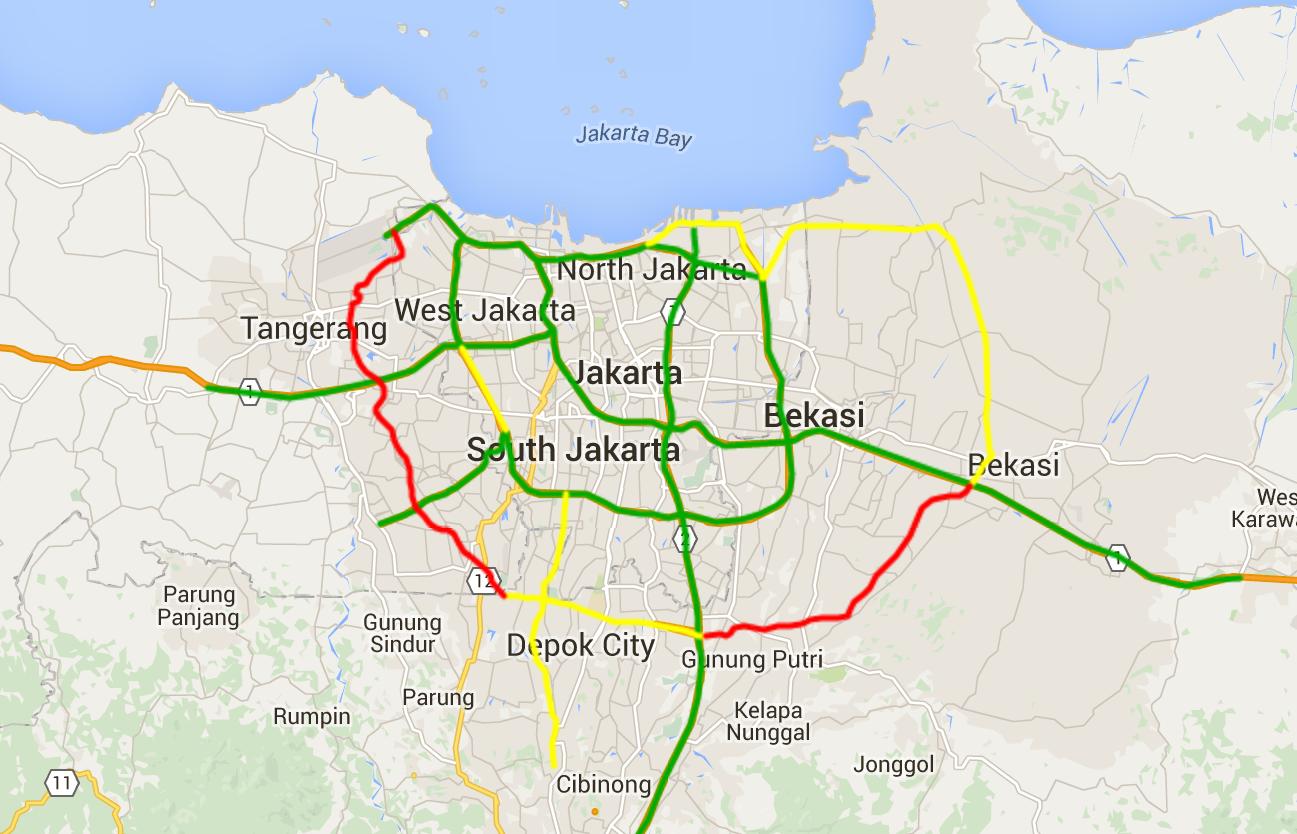 Peta Jalan Jakarta Related Keywords - Peta Jalan Jakarta