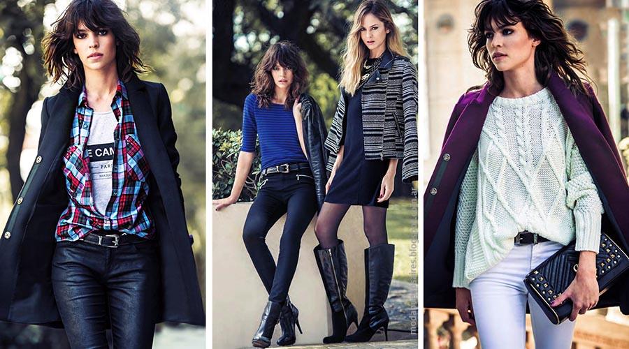 Moda otoño invierno 2015 Markova tapados, camperas, pantalones y faldas otoño invierno 2015.