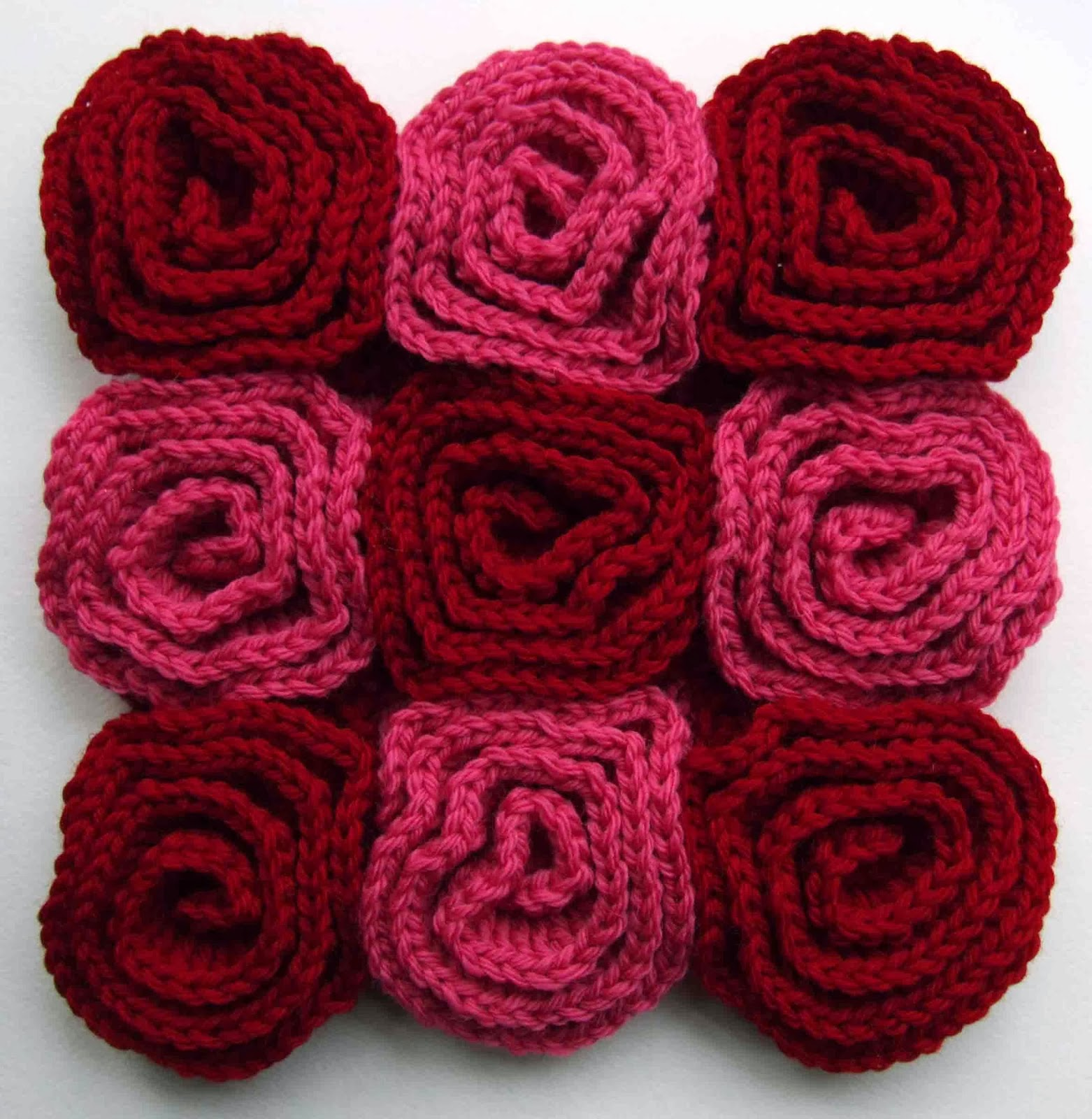 Free Crochet Rose Square Pattern : WoolnHook: Rose Square Crochet Pattern