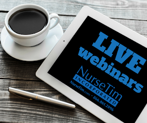 NurseTim Live Webinars