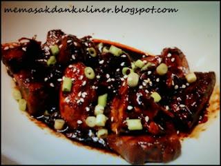 Resep Masakan | Ayam Bungkus Saus Kecap