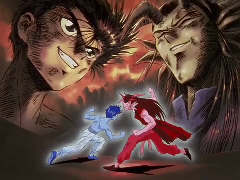 Yusuke is the main protagonist of YYH so he s had a lot of fights  His    Yu Yu Hakusho Yusuke Wallpaper