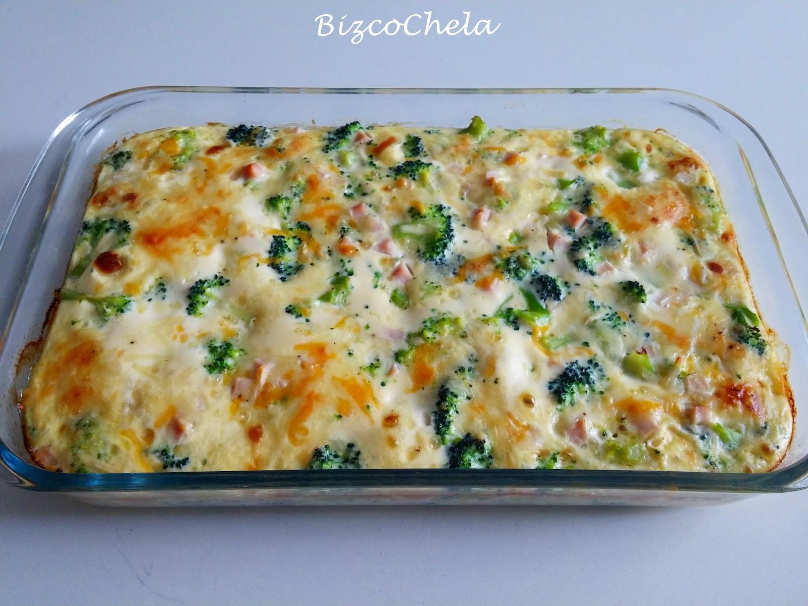 Resultado de imagen para Pastel de brócoli y pavo