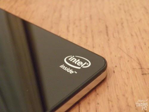 Mediacom SmartPad iPro W810, logo Intel