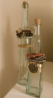 DIY's Jewelry Display Bottles