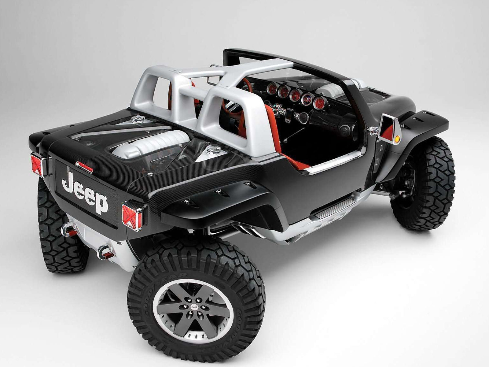2005 hurricane concept gambar mobil jeep for Benetton 4 wheel steering
