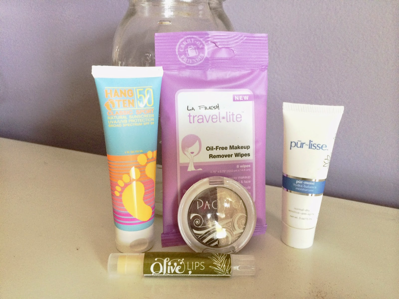 Olive Lips, Hang Ten, Pur-lisse, Pacifica, La Fresh Reviews