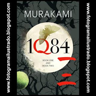 1Q84 Haruki Murakami fotogramailustrado luna moon crisálida