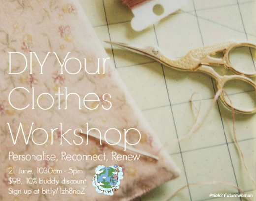 DIY Clothes Workshop Run #3