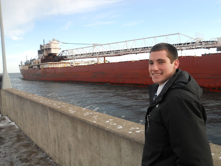 At the harbor on Lake Superior