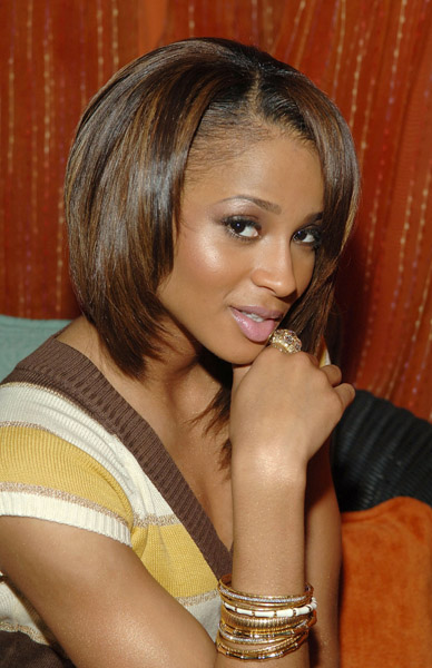 bob hairstyles with bangs. African American Bob Hairstyle