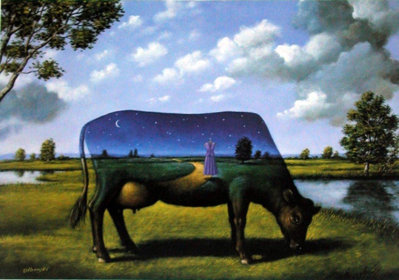 Poetico surrealismo de Rafal Olbinski