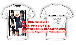T-Shirt Berfoto -Bisa dgn Fotomu/Foto Idolamu-