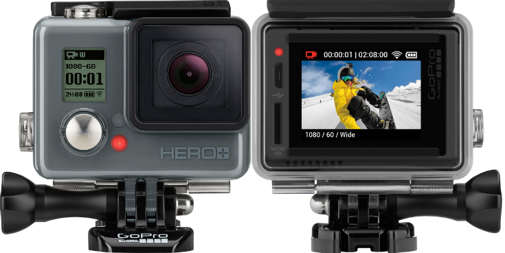#GoProBestBuy The GoPro HERO+ LCD makes the perfect Father's Day gift for any photographer, capturing everyday moments to extreme sporting! #ad