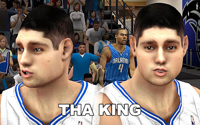 NBA 2K13 Mods Nikola Vučević Cyberface Update