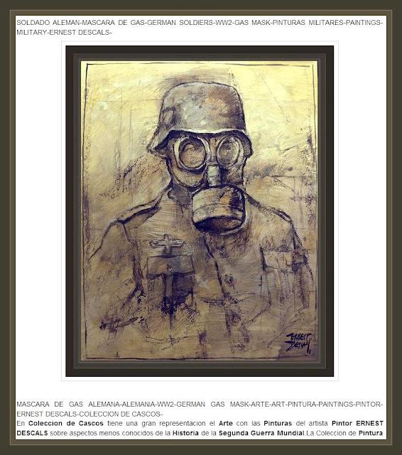 PINTURA-ARTE-SEGUNDA GUERRA MUNDIAL-WW2-PAINTINGS-ERNEST DESCALS