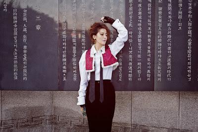 Kim Hee Sun - L'uomo Vogue Magazine November Issue 2013