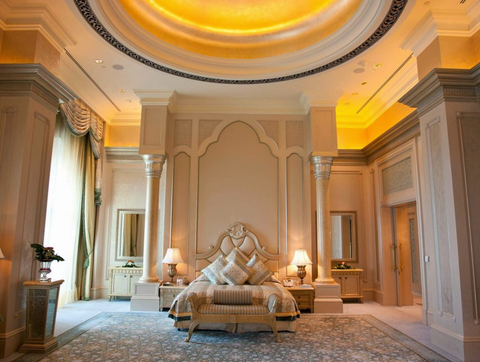 Luxury life design emirates palace abu dhabi arabian fantasy Pics of master bedroom suites