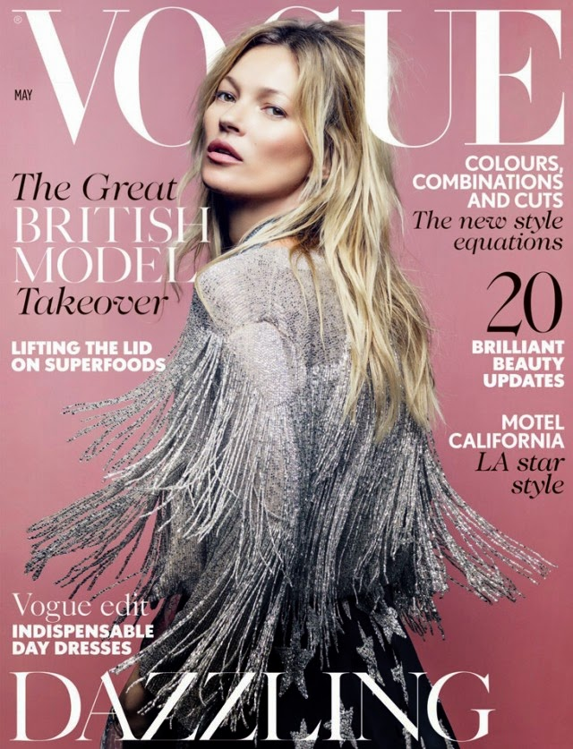 Kate Moss British Vogue Topshop