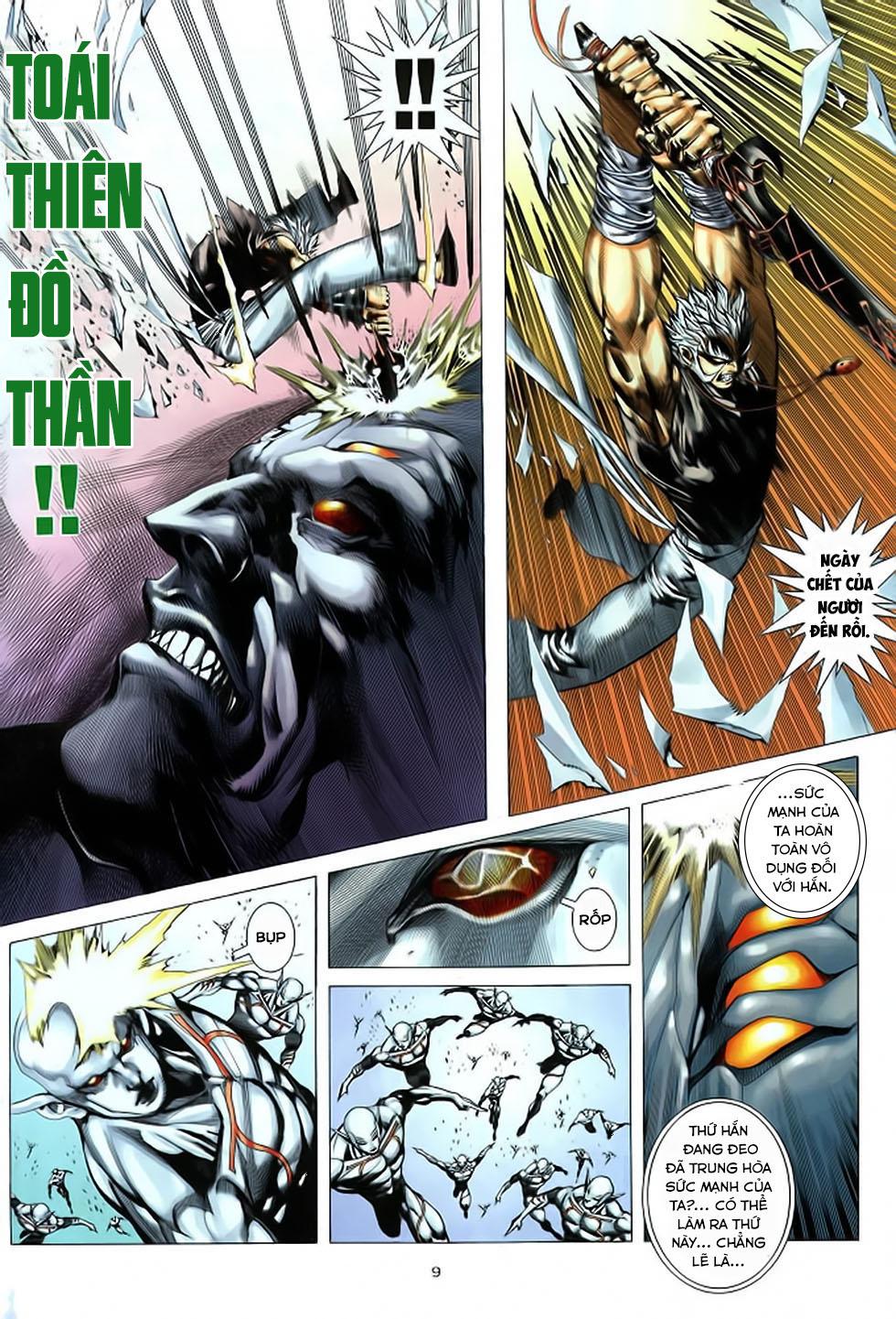 Chiến Thần Ký chap 39 - Trang 10