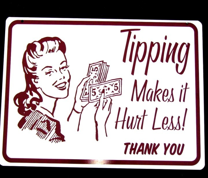 Tattoo artist tipping quote