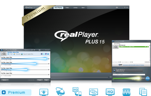 Real Player 15 Plus Crack 5.18 MB