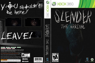 Capa Jogo Slender The Arrival Xbox 360