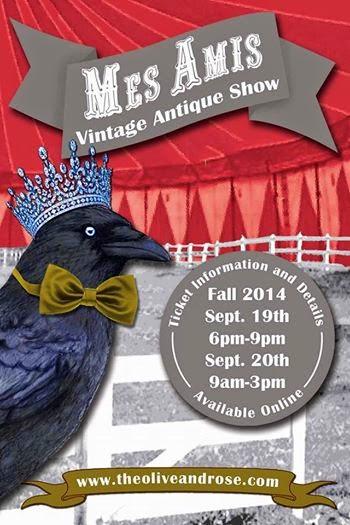 mes Amis vintage show roseville, CA