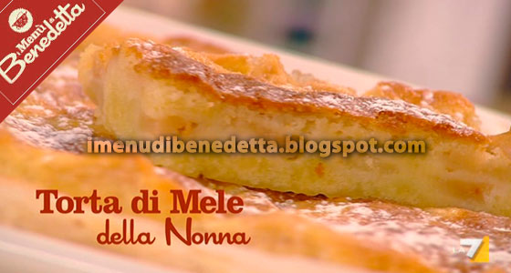 Torta di mele di nonna carla la ricetta di benedetta parodi for Le ricette di benedetta parodi