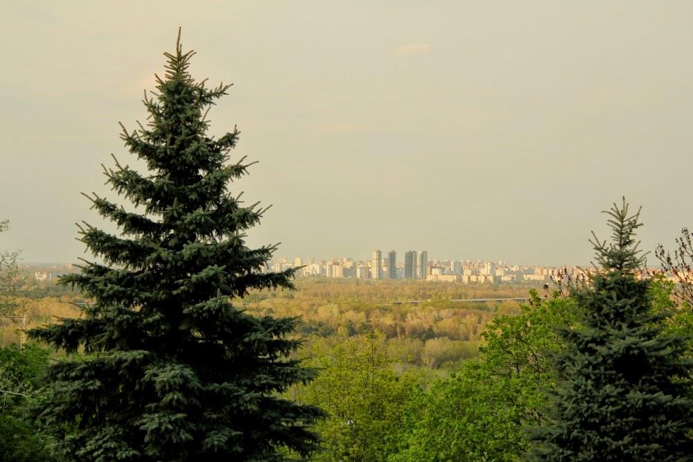 spring in kiev city