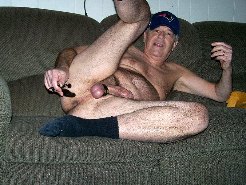 gay grandfather - gay toy  - daddy's toy