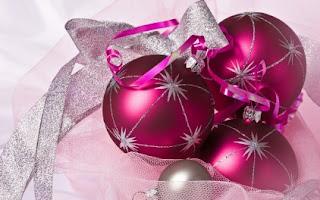 Christmas pink ball Images